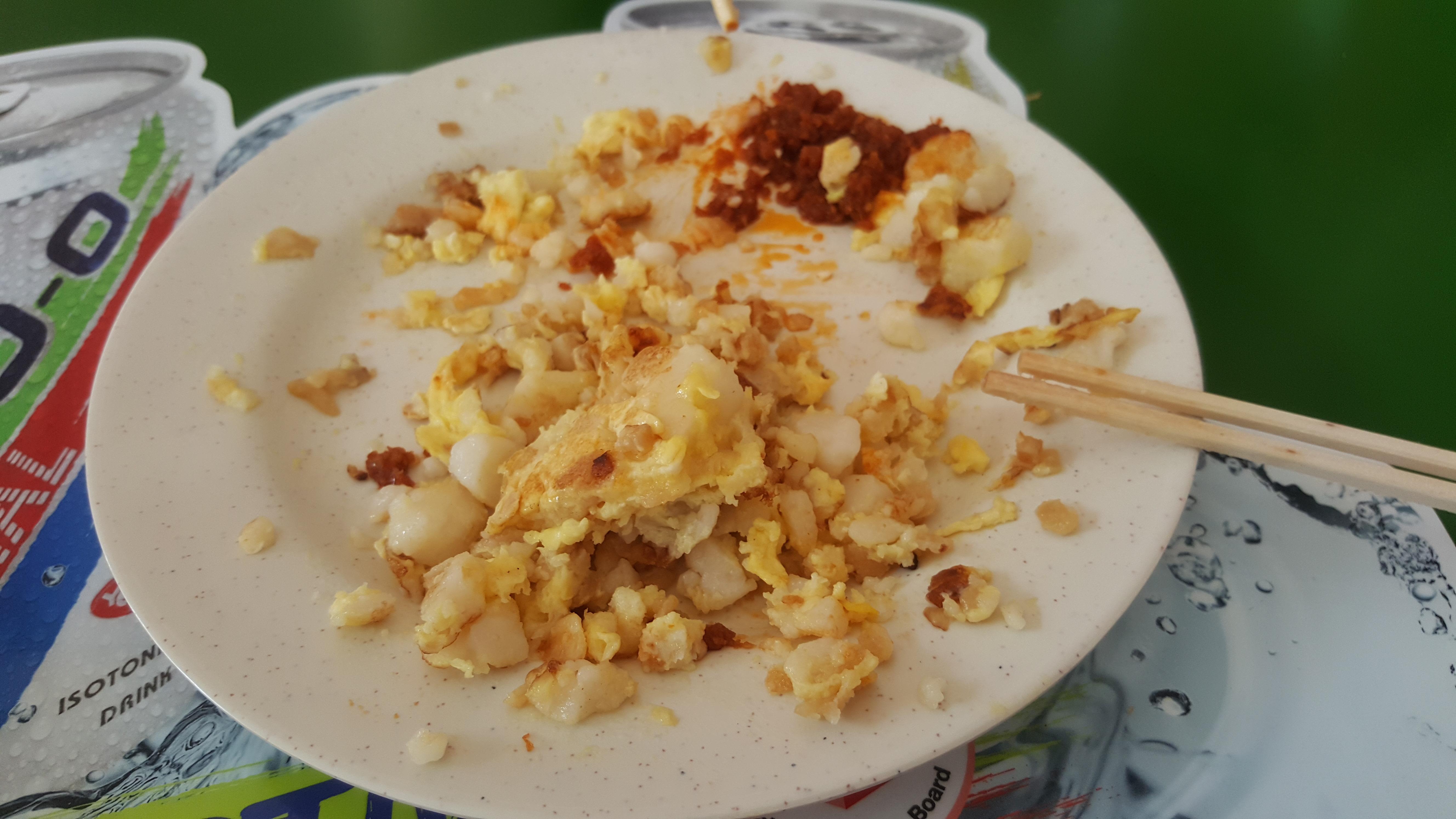Singapore Food Staples Carrot Cake Surprising Horizons